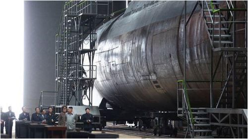 Analysts said Kim's regime has sought to build a viable nuclear-armed submarine to enhance its deterrence capabilities.
