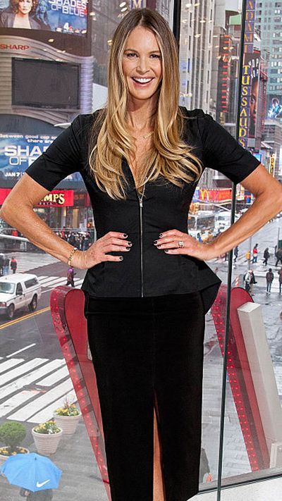 """<p>Let's hope that clean-living Elle Macpherson allowed herself some guilty pleasures on her 53rd birthday. Odds are that the disciplined devotee of clean living, model, underwear entrepreneur and actress (<em>Friends, Batman Forever, Sirens</em>) wasmeditating, stretching and inhaling the kind of pure, rarefied air that comes from being at the top of your fame for more than 30 years.</p> <p>Since gaining fame as the TAB girl Elle went on to become 'The Body' when she appeared on the cover of Time Magazine in 1989. The Sydney-born stunner appeared in countless photo shoots by her first husband French photographer Gilles Bensimmon in the magazine that shared her name, <em>Elle</em>. Recently the pair reunited for the Australian edition of <em>Elle</em>.</p> <p>""""We didn't hit it off in the beginning,"""" Elle said of Gilles. """"I found him very difficult to understand. He had a very strong French accent and I didn't speaking French. I couldn't figure out if he liked working with me or not. And with Giles, there was always a lot of girls ... there might be four, five, six girls on your shoot, so you know, it's not all about you.""""</p> <p>Since splitting with Gilles, Elle has raised two sons with her ex-boyfriend billionaire Arpad Busson and is now married to billionaire Jeffrey Soffer (she has a type).</p> <p>With age has come new perspective about being beautiful.</p> <p>""""I used to think looking good was all about using the right creams, but you have to begin with what you're putting into your body,"""" Elle told <a href=""""http://www.vogue.co.uk/article/the-elle-macpherson-guide-to-wellness-and-beauty"""" target=""""_blank"""" draggable=""""false""""><em>Vogue</em></a>. """"For me it's a good dose of genetics, a dose of Australian culture and an awareness of what I'm consuming. Wellness was previously associated with yoga, brown rice and Birkenstocks, but I'm so glad it's become something more luxurious.""""</p> <p>Those genetics give Elle membership to a growing club of women who are challenging t"""