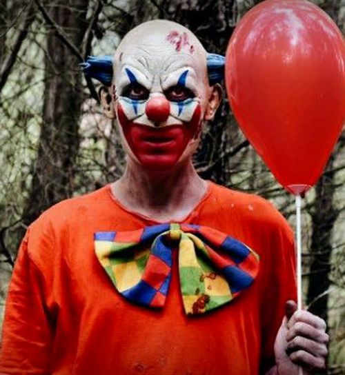 The call for Halloween mischief by Clown Purge Sydney drew many sharp responses on social media.