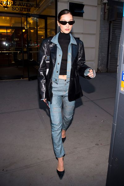 Denim Muse- Bella Hadid