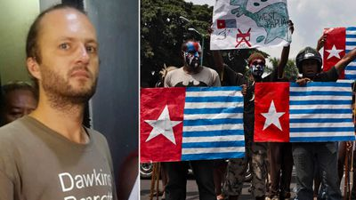 Polish traveller blunders into Papua conflict