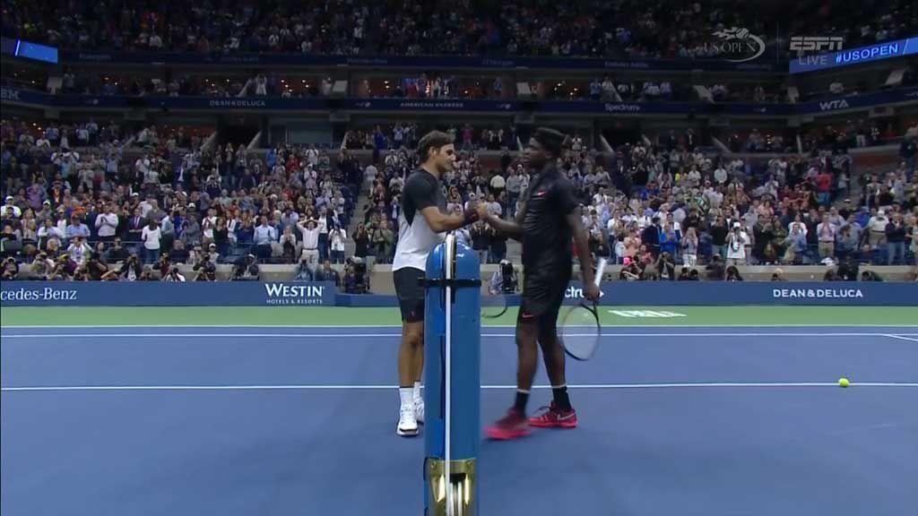 Federer wins five set marathon
