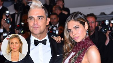 Cameron Diaz convinced Robbie Williams to reunite with his