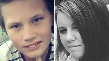 Siblings Connor and Kirralee Tuthill were last seen in Melbourne CBD. (Supplied)