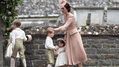 The Duchess wore her favourite designer