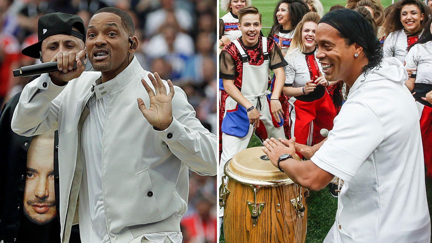 Will Smith and Ronaldinho