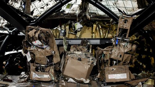 Dutch police officer demoted for collecting MH17 souvenirs