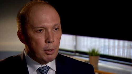 Home Affairs Minister Peter Dutton has a zero-tolerance stance on violent foreign criminals.