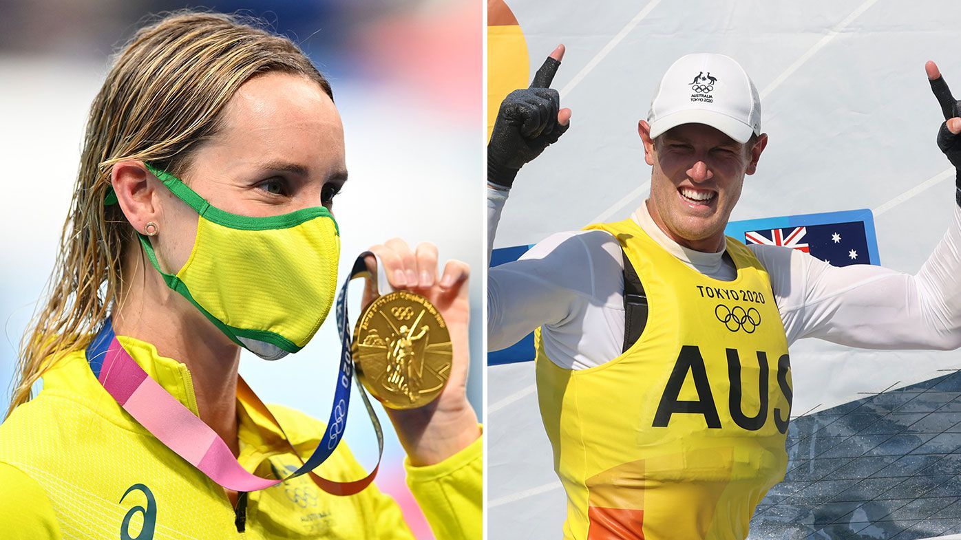 Emma McKeon and Matt Wearn both claim gold medals on day nine.