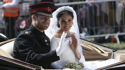 Harry and Meghan marry in lavish royal wedding, 19 May 2018