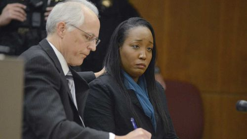 Ina Rogers with her lawyer in court. (AAP)