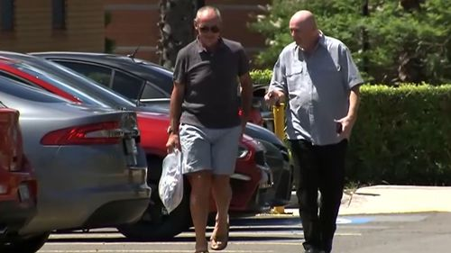 Chris Dawson has been released on bail, with his brother Peter collecting him from prison.