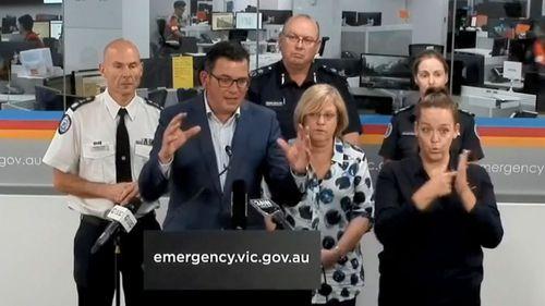 Premier Daniel Andrews State of Disaster