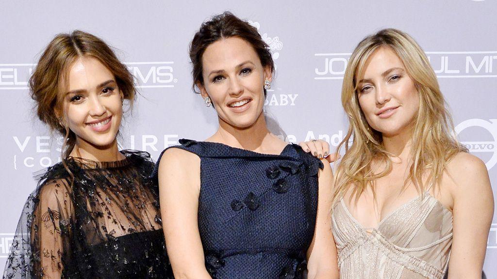 The sisterhood: Jessica Alba, Jennifer Garner and Kate Hudson are helping less fortunate mums. Image: Getty