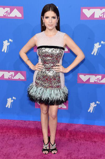 Anna Kendrick at the 2018 MTV Video Music Awards