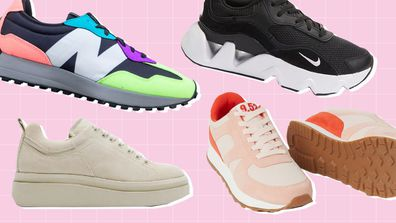 How to master the chunky sneaker trend