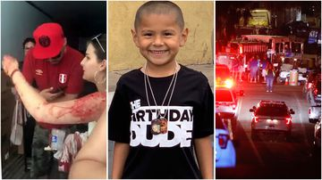 A six-year-old boy is among four killed during a California festival shooting.