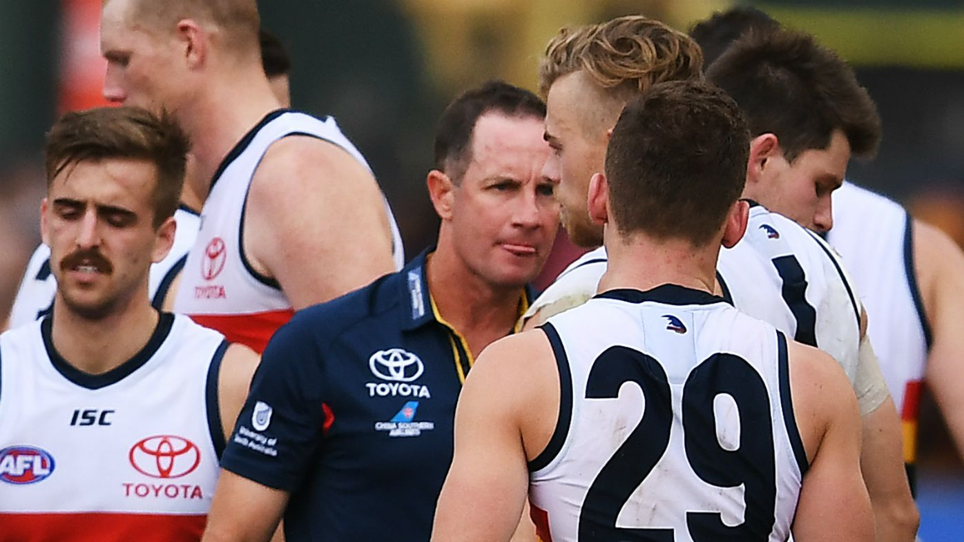 Adelaide coach Don Pyke reveals the reasoning behind furious stare down at three-quarter time