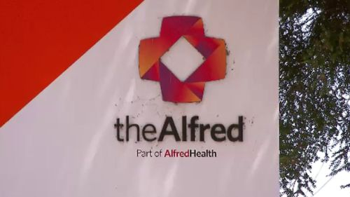 Edmund had reconstructive surgery in The Alfred Hospital. (9NEWS)