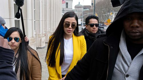 Emma Coronel Aispuro is accused of plotting to bust her husband El Chapo out of prison.