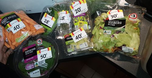 Fresh veggies can also be snapped up for bargain prices. Picture: 9NEWS