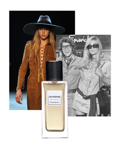 Saharienne (the safari jacket) is an adventurous blend of white musk and orange blossom.