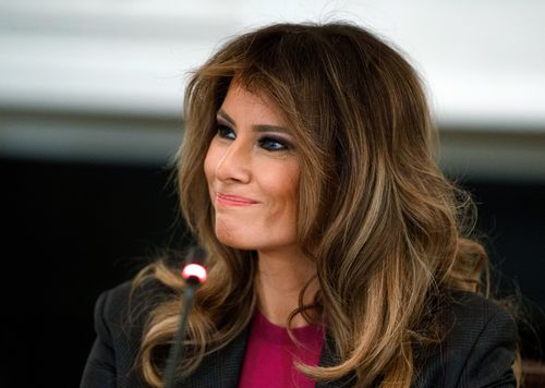 Melania Trump has escaped to her family's estate in Florida as she faces pressure to split from her husband. (AAP)