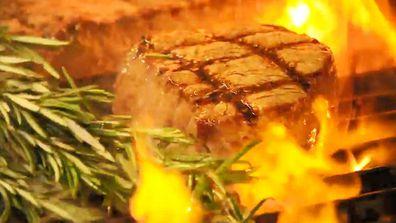 Steak needs a smoking hot grill at 6Head