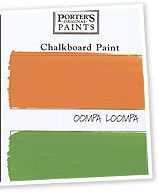how to use chalkboard paint