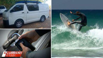 Surfers insurance warning after van stolen despite using key lock.