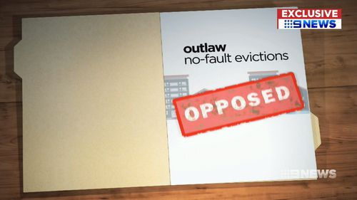 The proposal was pushing to abolish the right of landlords to terminate a tenancy without any grounds.