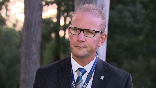 Police union boss Ian Leavers. (9NEWS)