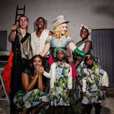 Madonna: 6 kids