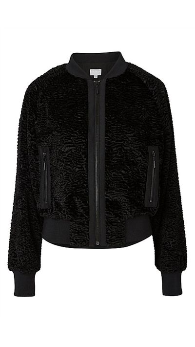 """<a href=""""http://www.witchery.com.au/shop/woman/clothing/jackets-and-coats/60177189/Nelson-Bomber-Jacket.html"""">Nelson Bomber Jacket, $299, Witchery</a>"""