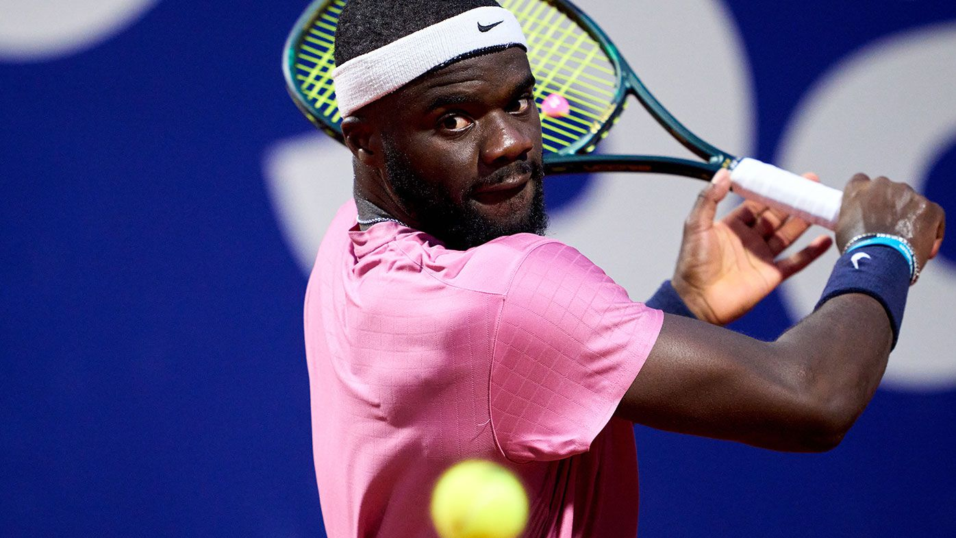 Frances Tiafoe, once ranked at number 29 in the world, has slipped to 74.