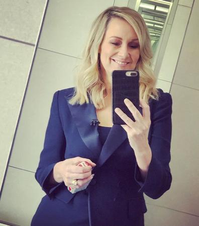Melissa Doyle selfie