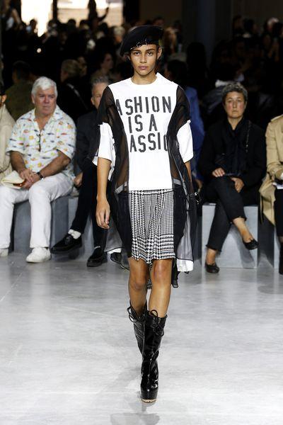 Sacai, spring/summer '17, Paris Fashion Week