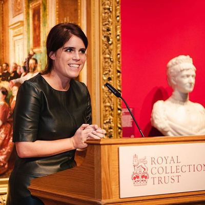 Princess Eugenie's new hairstyle, December 2018