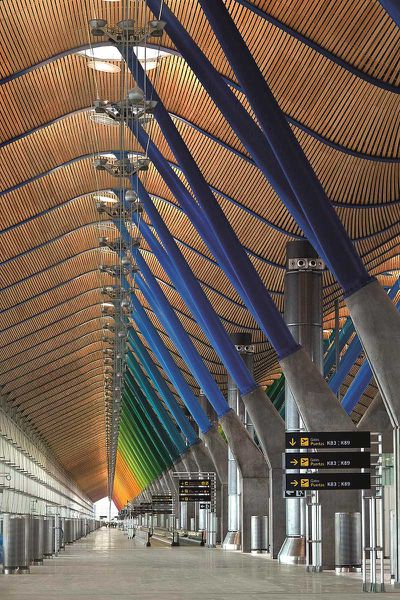 "<a href=""http://elsewhere.nine.com.au/destinations/europe/spain/madrid""><strong>Madrid</strong></a><strong>, Spain: Barajas Airport</strong>"