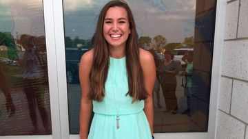 Mollie Tibbetts poses for a picture during 2016 homecoming festivities at BGM High School in her hometown of Brooklyn, Iowa.