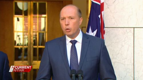 Immigration Minister Peter Dutton is standing by his decision to cancel Creamer's visa.