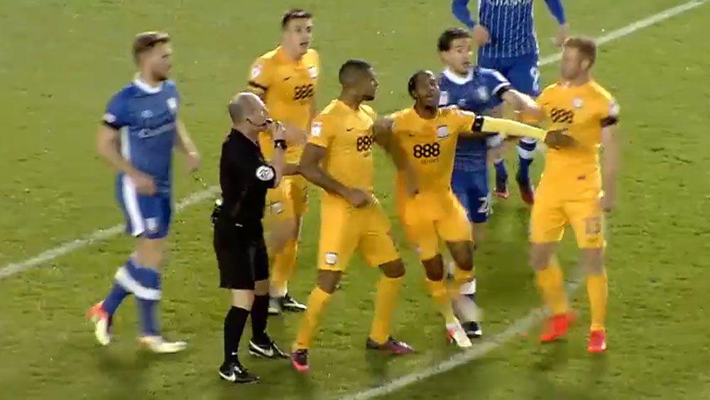 Preston fine brawling teammates to refund fans