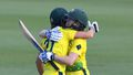 Aussie women win opening Ashes one-dayer in tense finish