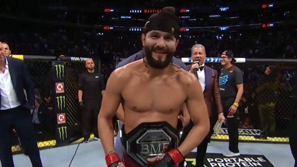 UFC 244: Jorge Masvidal defeats Nate Diaz via TKO after doctor stops fight