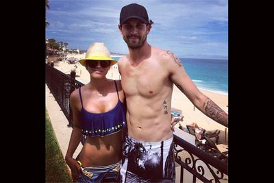 And her hubby Ryan Sweeting. Nawww.<br/><br/>(Image: Instagram)