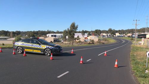 A cyclist has been killed in a crash with a truck in Bendigo.