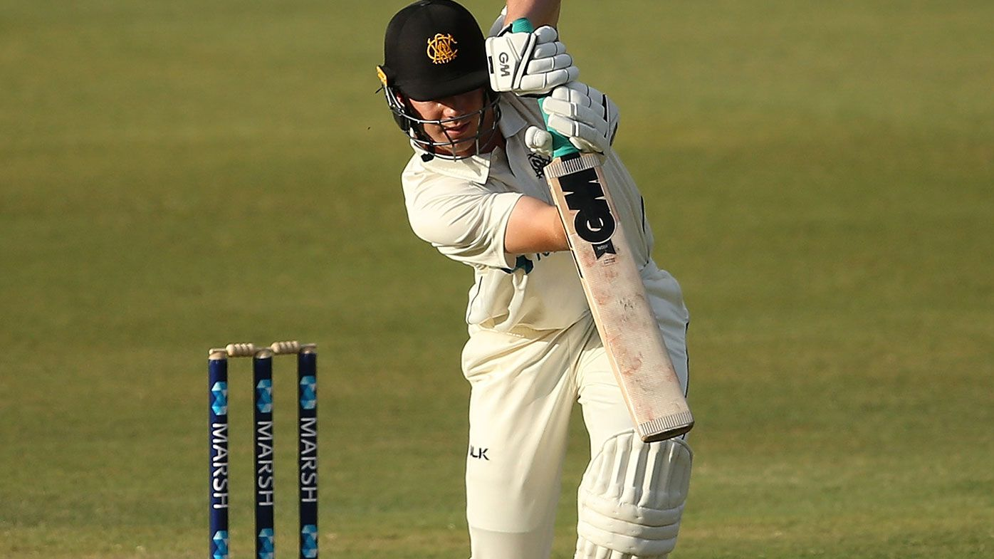Cameron Green notched his maiden Sheffield Shield hundred against Queensland.