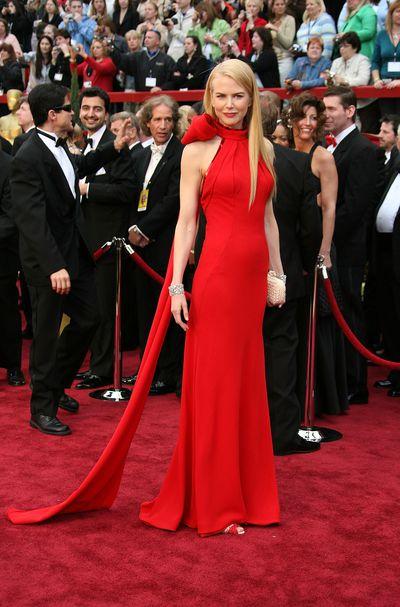 Nicole Kidman in Balenciaga at the 2007 Oscars