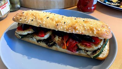 Make a roasted veg panini into an epic lunch