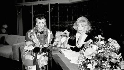 @BoyGeorge Goodbye my friend Joan Rivers. You were a huge part of my professional life and you brightened up the horizon with your Chutzpah! Sad! (Twitter)